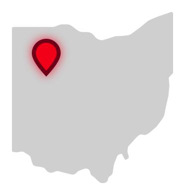 Apollo Career Center location on Ohio map