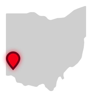 Butler Tech location on Ohio map
