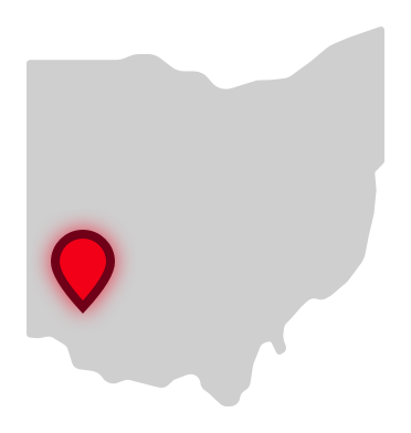 Great Oaks Career Campuses location on Ohio map